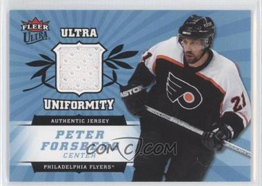 2006-07 Fleer Ultra - Uniformity #U-PF - Peter Forsberg