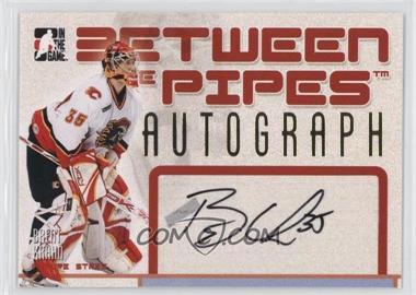 2006-07 In the Game Between the Pipes - Autographs #A-BK - Brent Krahn