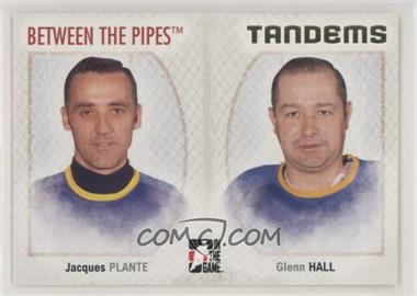 2006-07 In the Game Between the Pipes - [Base] #141 - Jacques Plante, Glenn Hall