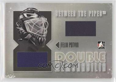 2006-07 In the Game Between the Pipes - Double Memorablia - Silver #DM-20 - Felix Potvin