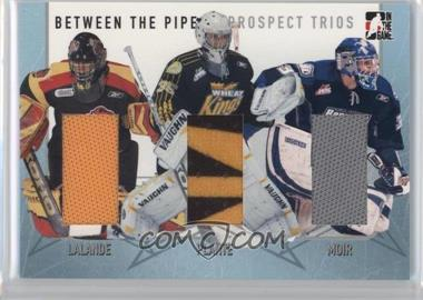 2006-07 In the Game Between the Pipes - Prospect Trios - Silver #PT-10 - Kevin Lalande, Tyler Plante, Kyle Moir