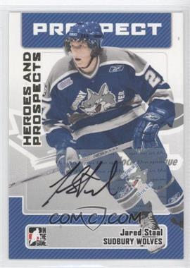 2006-07 In the Game Heroes and Prospects - Autographs #A-JAS - Jared Staal