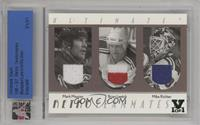 Mark Messier, Brian Leetch, Mike Richter /1 [Uncirculated]
