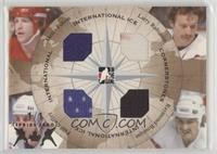 Denis Potvin, Larry Robinson, Ray Bourque, Paul Coffey #/1