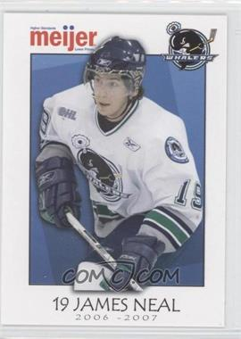 2006-07 Meijer Plymouth Whalers - [Base] #19 - James Neal