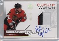 Future Watch Autographs - Dustin Byfuglien #/100