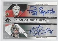 Tony Esposito, Marty Turco