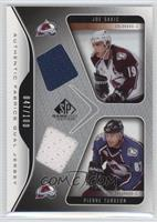 Joe Sakic, Pierre Turgeon /100