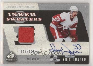 2006-07 SP Game Used Edition - Inked Sweaters #IS-KD - Kris Draper /100