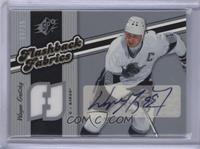 Autographed Flashback Fabrics - Wayne Gretzky #/25