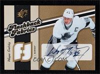 Autographed Flashback Fabrics - Wayne Gretzky