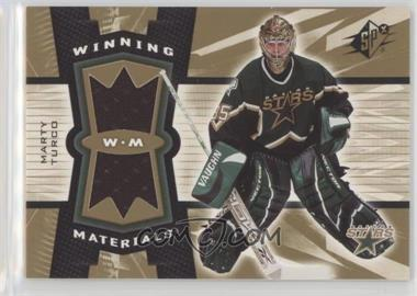 2006-07 SPx - Winning Materials #WM-MT - Marty Turco