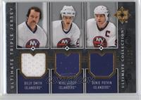 Billy Smith, Mike Bossy, Denis Potvin /25