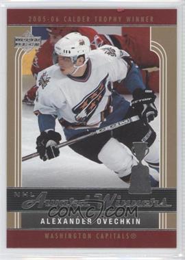 2006-07 Upper Deck - NHL Award Winners #AW4 - Alex Ovechkin