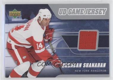 2006-07 Upper Deck - UD Game Jersey #J-SH - Brendan Shanahan