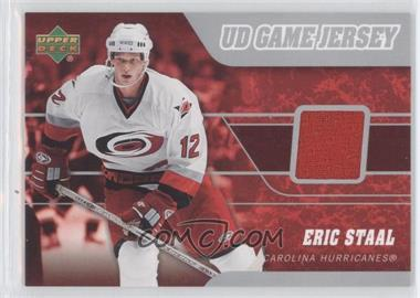 2006-07 Upper Deck - UD Game Jersey #J2-ES - Eric Staal