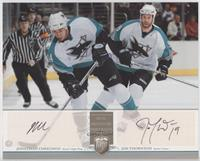 Jonathan Cheechoo, Joe Thornton