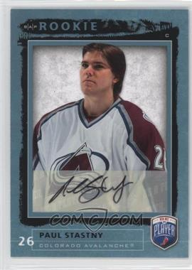 2006-07 Upper Deck Be a Player - [Base] - Autographs [Autographed] #219 - Paul Stastny