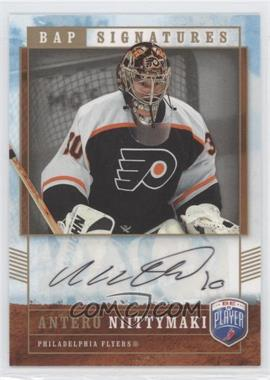 2006-07 Upper Deck Be a Player - Signatures - [Autographed] #AN - Antero Niittymaki