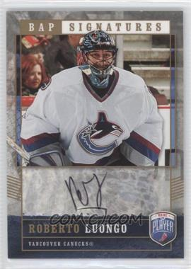 2006-07 Upper Deck Be a Player - Signatures - Variation 1 [Autographed] #97 - Roberto Luongo /25