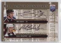 Joe Sakic, Paul Stastny