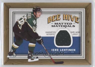 2006-07 Upper Deck Bee Hive - Matted Materials #MM-LE - Jere Lehtinen