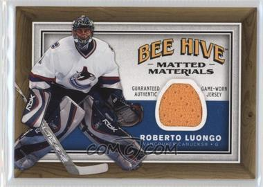 2006-07 Upper Deck Bee Hive - Matted Materials #MM-RL - Roberto Luongo