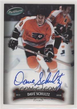 2006-07 Upper Deck Parkhurst - [Base] - Autographs [Autographed] #112 - Dave Schultz