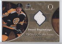 Sweet Beginnings Rookie Jersey - Mark Stuart #/499