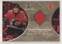 Sweet Beginnings Rookie Jersey - Dustin Boyd #/499