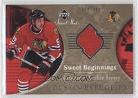 Sweet Beginnings Rookie Jersey - Dustin Byfuglien /499