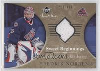 Sweet Beginnings Rookie Jersey - Fredrik Norrena /499