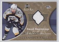 Sweet Beginnings Rookie Jersey - Alexander Radulov /499