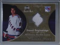 Sweet Beginnings Rookie Jersey - Nigel Dawes #/499