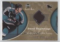 Sweet Beginnings Rookie Jersey - Joe Pavelski #/499