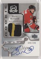 Rookie Patch Autograph - Dave Bolland #/249