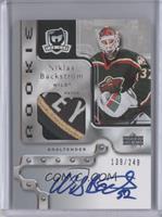 Rookie Patch Autograph - Niklas Backstrom #/249