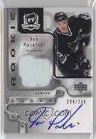 Rookie Patch Autograph - Joe Pavelski #/249