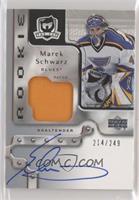 Rookie Patch Autograph - Marek Schwarz #/249