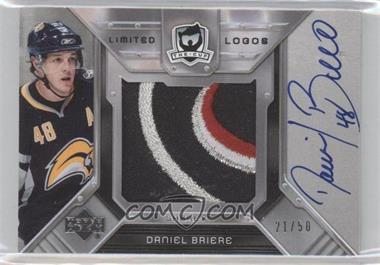 2006-07 Upper Deck The Cup - Limited Logos Autographs #LL-DB - Daniel Briere /50