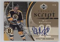 Ray Bourque [Noted] #/23