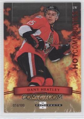 2007-08 Fleer Hot Prospects - [Base] - Red Hot #109 - Dany Heatley /100