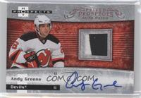 Autographed Prospect Patches - Andy Greene #/399