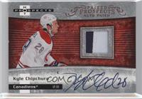 Autographed Prospect Patches - Kyle Chipchura [Noted] #/399