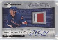Autographed Prospect Patches - Ryan Callahan /399