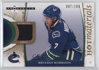 Brendan Morrison #/100
