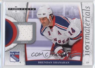 2007-08 Fleer Hot Prospects - Hot Materials #HM-SH - Brendan Shanahan