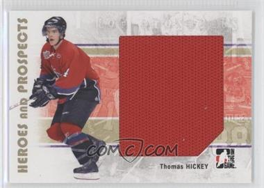 2007-08 In the Game Heroes and Prospects - [Base] #101 - Thomas Hickey