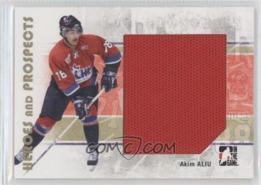 2007-08 In the Game Heroes and Prospects - [Base] #103 - Akim Aliu