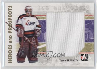 2007-08 In the Game Heroes and Prospects - [Base] #128 - Tyson Sexsmith